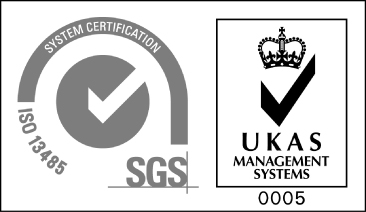 ISO13485 SGS/UKAS MANAGEMENT SYSTEMS 05